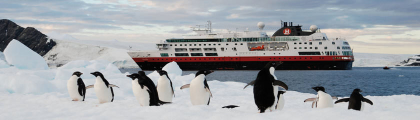 Totaaloverzicht expeditiecruises naar Antarctica