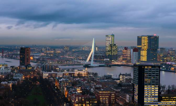 Haven Rotterdam populaire cruisehaven in Nederland