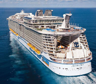 Allure of the Seas giga funschip voor families