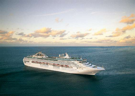 De Sea Princess van Princess Cruises