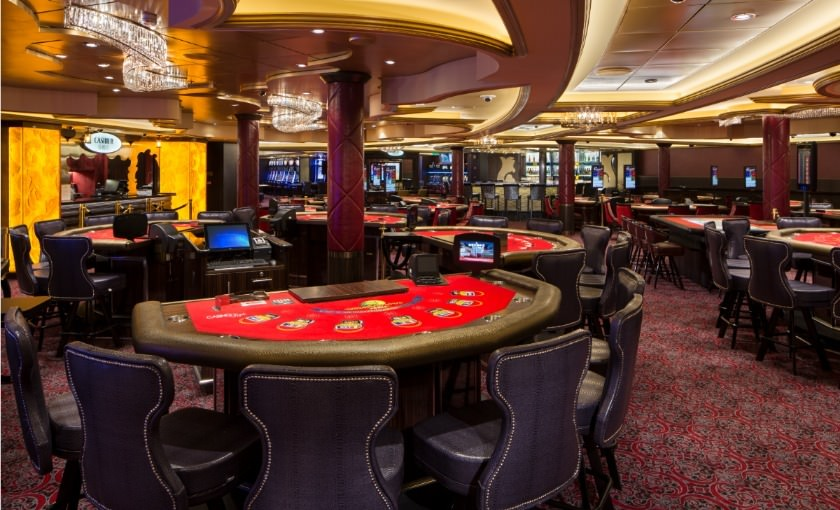 Een casino op de Ovation of the Seas