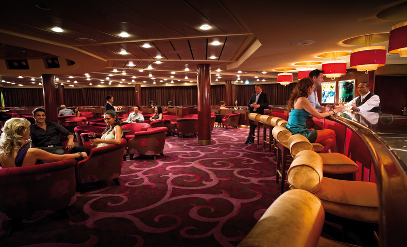 Loune op het schip Celebrity Constellation