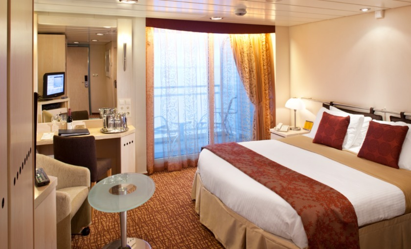 Een mindervalidenhut op de Celebrity Constellation