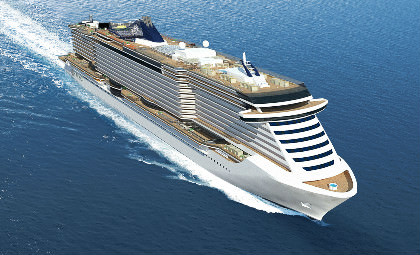 Impressies van MSC Seaside